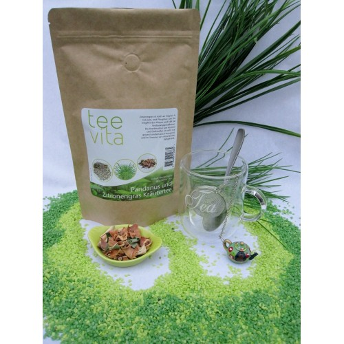 pandanus lemongras herbal tea schraubenbaum und zitronengras kr utertee. Black Bedroom Furniture Sets. Home Design Ideas